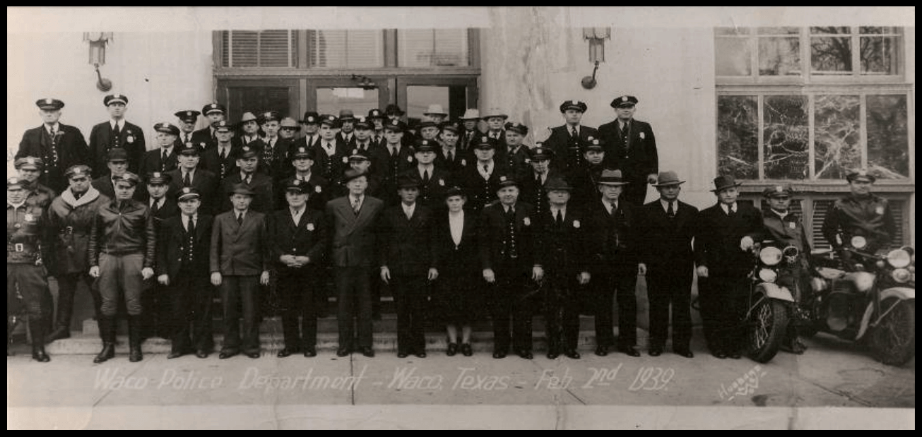 Waco Police Department in 1939