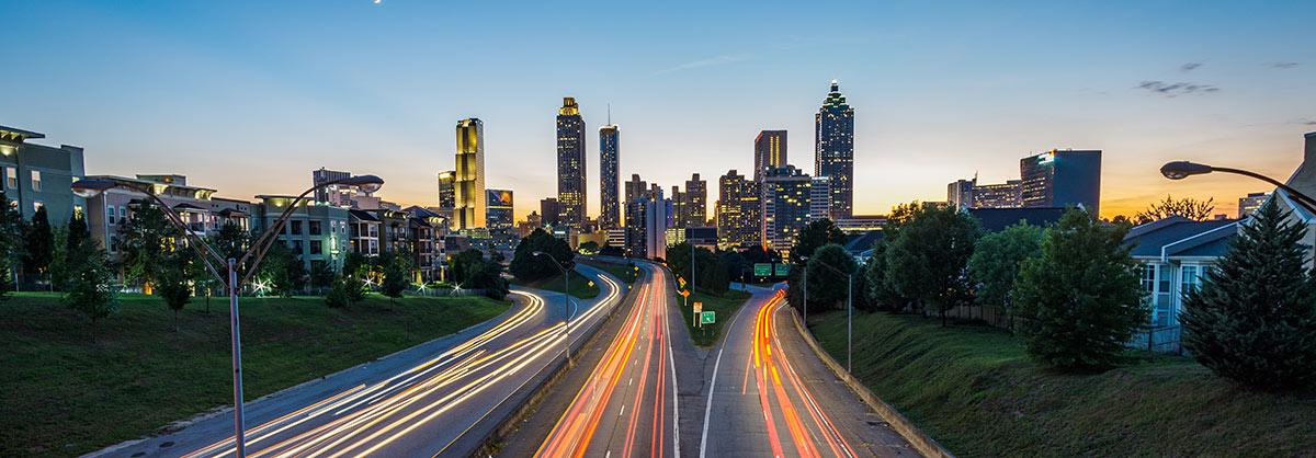 Atlanta drivers at night