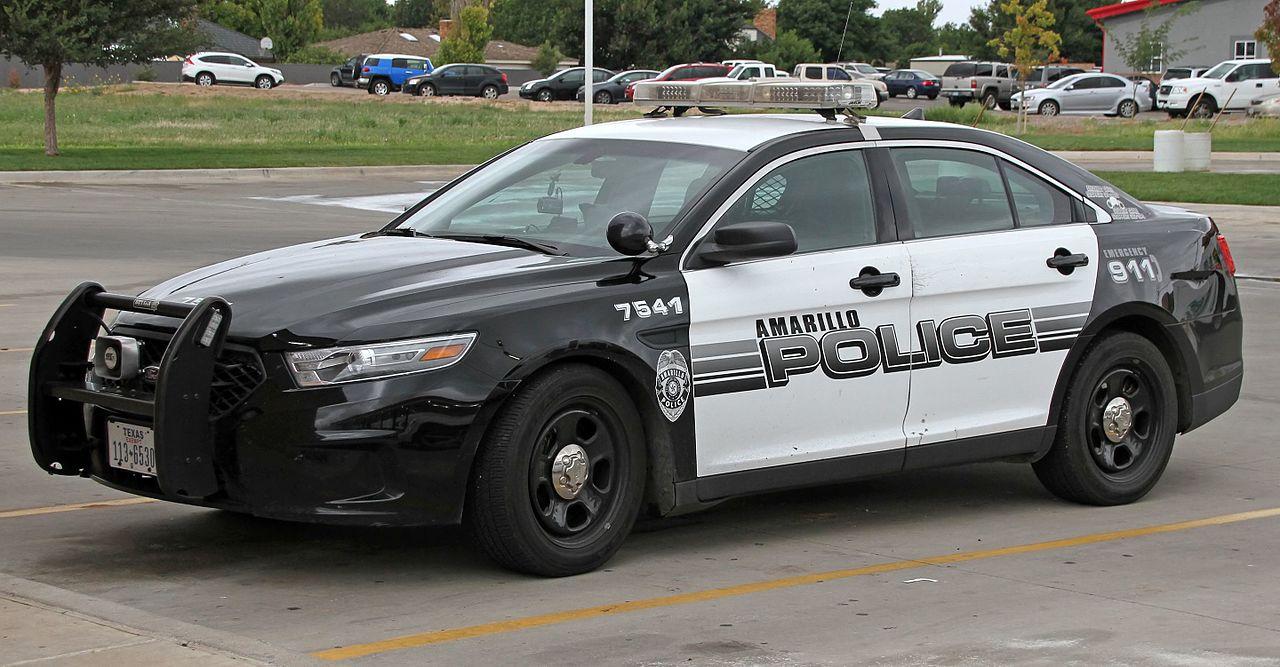 Amarillo Police Department Cruiser